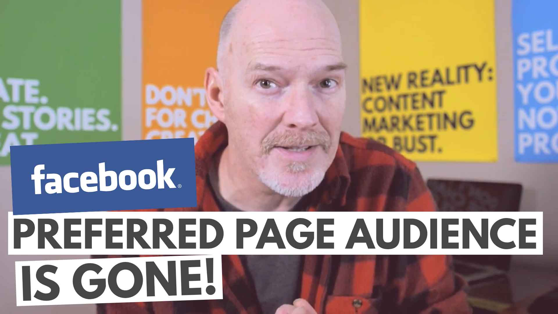 Facebook eliminates Preferred Page Audience setting